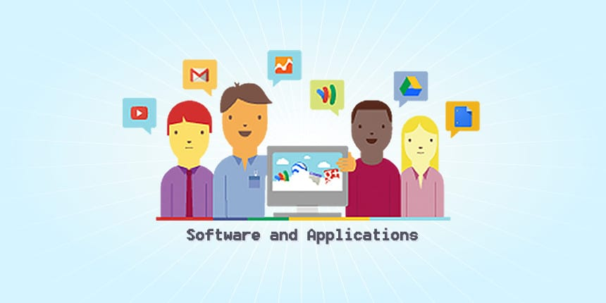 software and applications icons