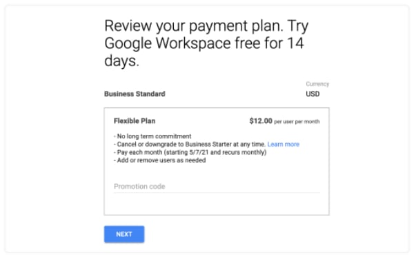 review payment plan
